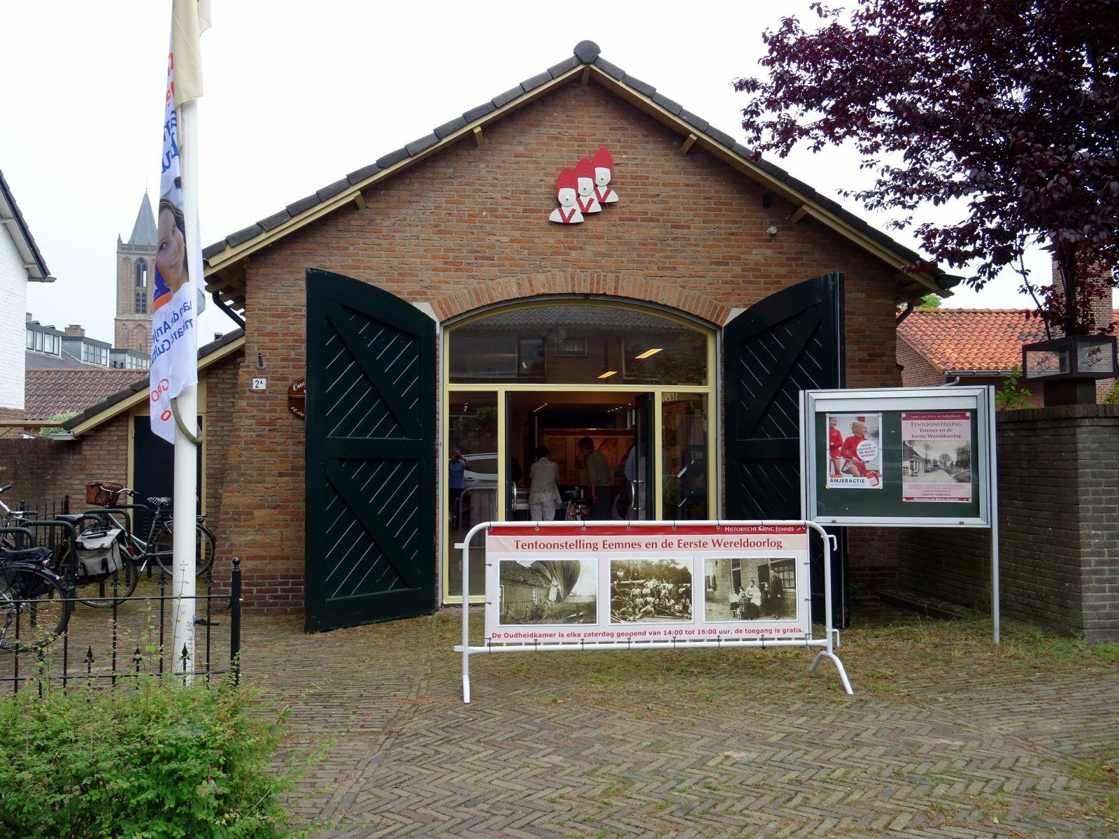 De fietsroute kan opgehaald worden tijdens de openingstijden van de Historische Kring vanaf 1 september.