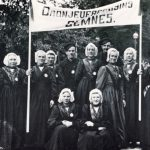 Foto 5 – Oranjevereniging in klederdracht in 1923